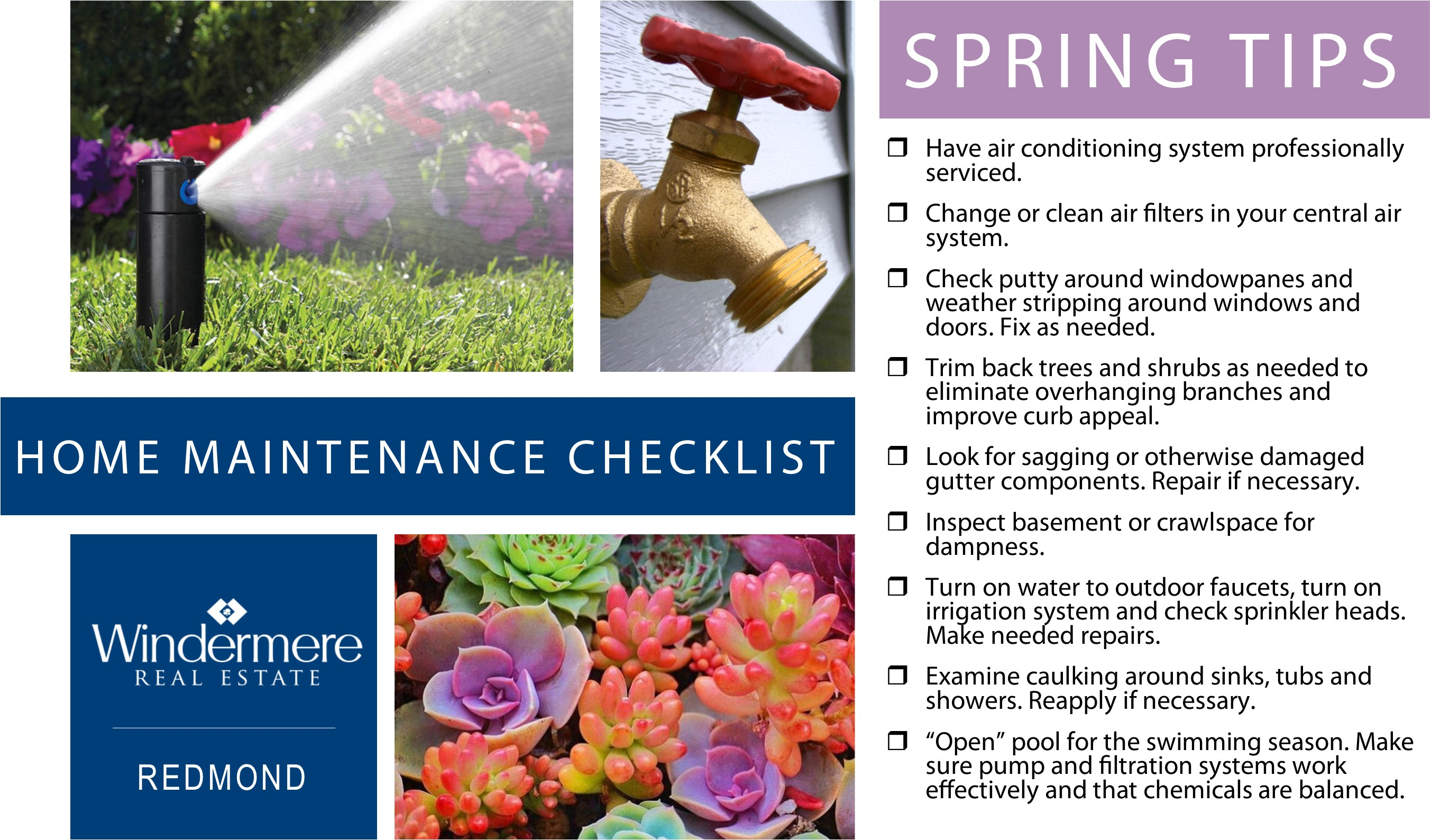 Spring home maintenance tips simple spring home maintenance tips visitvortex magazine - Home secrets brief cleaning guide ...